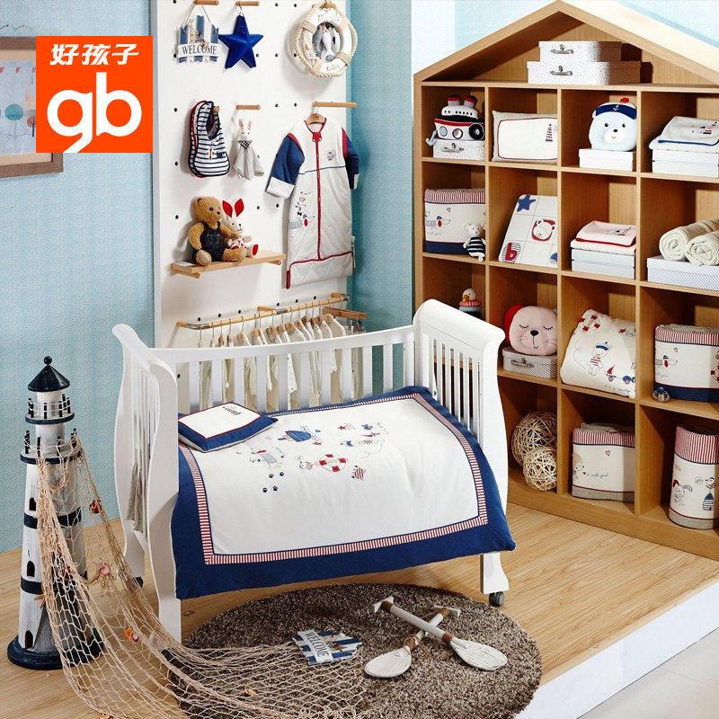 お子赤ちゃん寝具セットは新生児ベッドのベッドカバー布団セットカバー5点セット