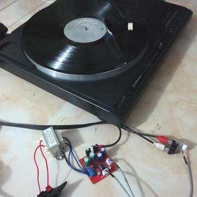 黑胶唱机MM MC唱头唱放板