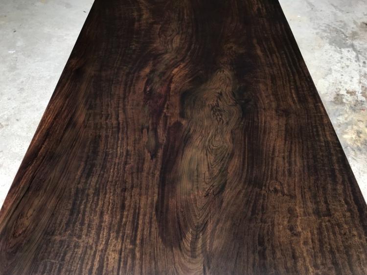 Ebony Daban / thé / ensemble panneau / de bois brut, le Bureau / bureau / table / place / une grande table
