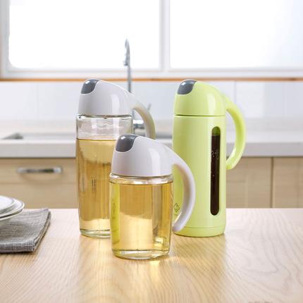 日式家用厨房用品防漏油罐玻璃油瓶酱油瓶醋瓶大号装油瓶调味油壶