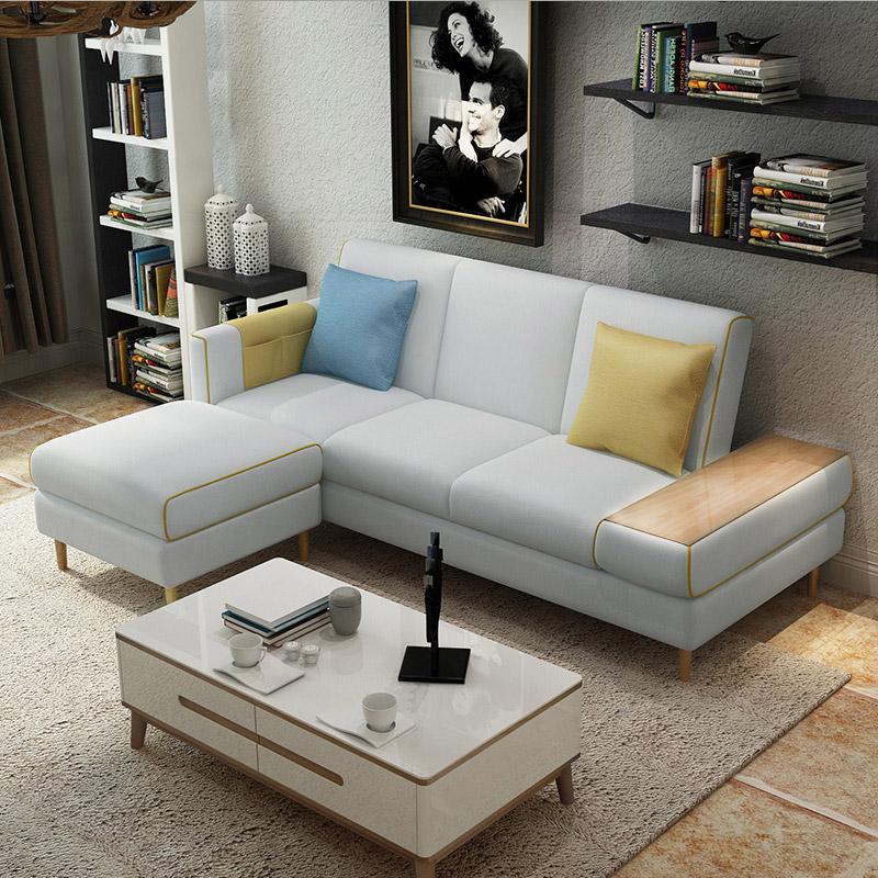 Το μικρό μέγεθος της Nordic καναπέ να μπορούν να πλένονται τρεις καναπέ μια πολυλειτουργική αποθήκευση καναπέ πτυσσόμενο καναπέ - κρεβάτι.