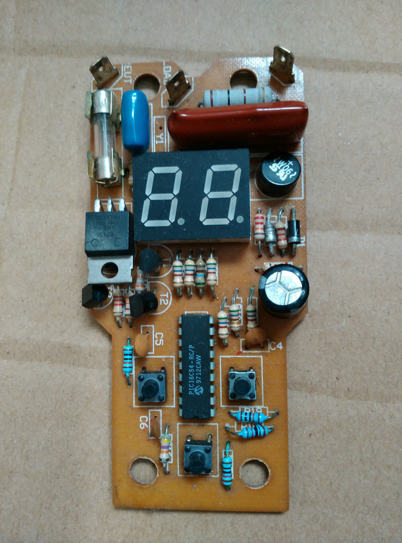 Remote control circuit board switch for Ankang swing machine