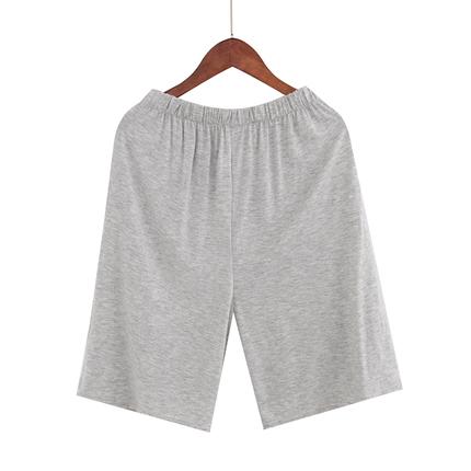 夏季薄家居短裤莫代尔休闲宽松睡裤中老年加肥加大200斤胖子爸爸