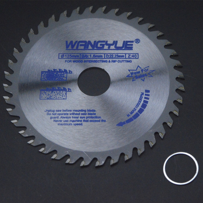 Machine cutting inch hard mm angle grinding 5 gold 125 tungsten steel package Youpian thin cut wood saw more prosperous