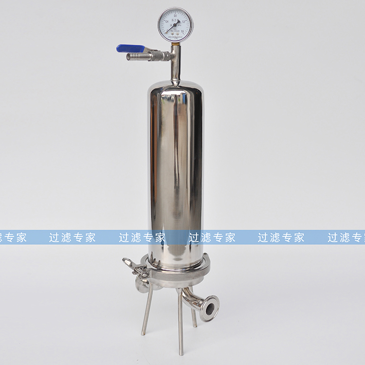 Factory can be customized 304/316 stainless steel filter cartridge, cylinder filter experimental single core