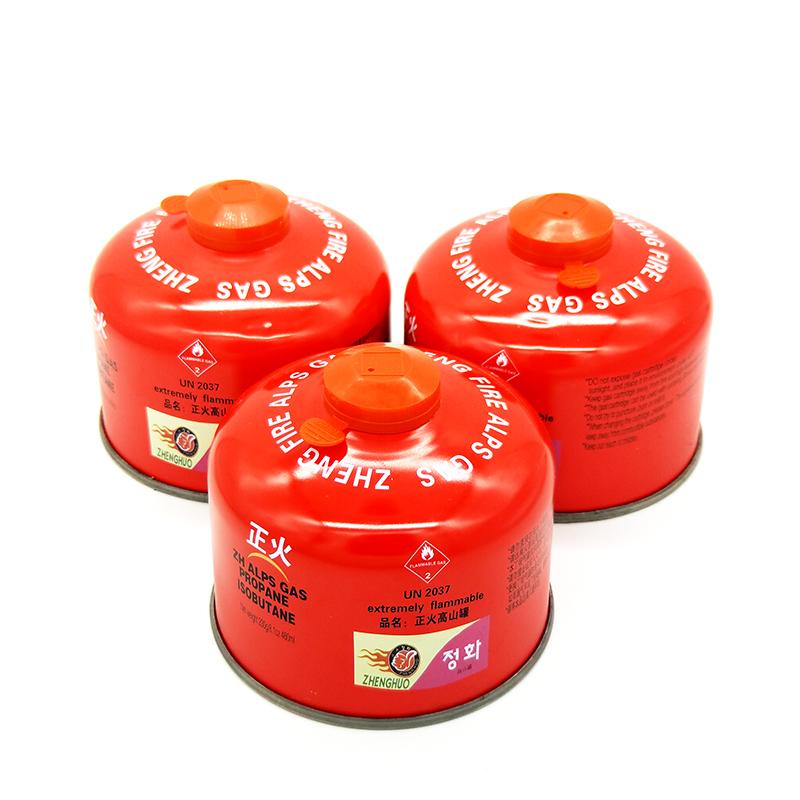 Аутентичные взрывобезопасное нормализации длинный плоский бак альпийских бензобак открытый газовый баллон бензобак поход портативный кассетный плита