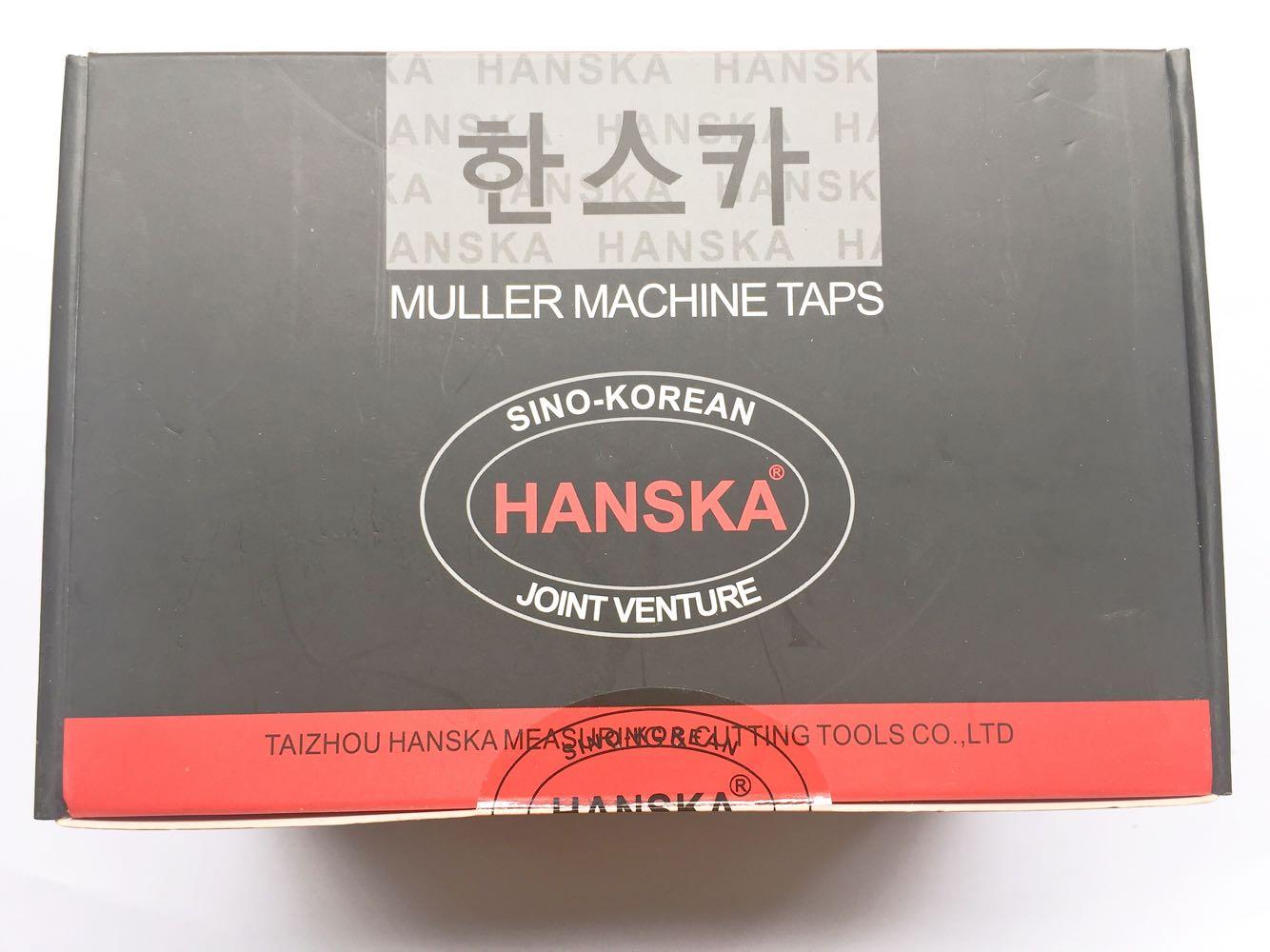 中韓の合弁HANSKAハンス-用糸攻螺旋タップM 3 /よんしよ/ご/ろく/はち/じゅう/じゅうに/じゅうよん/じゅうろく