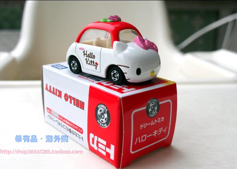 「日本の現物」仕様/トミー合金車NO.152 /静態コンパニオン/ hellokitty