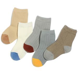 男童儿童袜子纯棉春秋薄款短袜2女孩中大童棉袜4-6小学生祙8-10岁