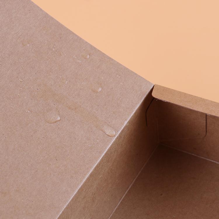 - pudła smażonego kurczaka z jeden raz żywności wysokiej jakości papier siarczanowy post wolny kurczak popcorn na zamówienie.