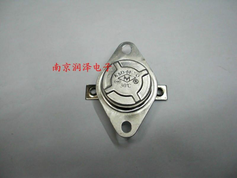 θερμοστάτης θερμοστατικού διακόπτη θερμοκρασία. 20α μεγάλο ρεύμα κανονικά κλειστές KSD-6F/D-2