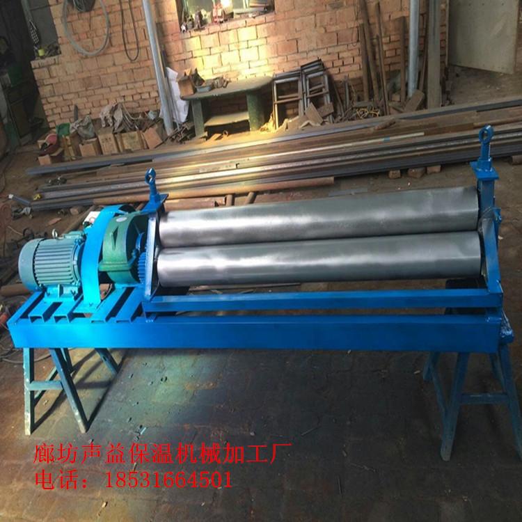 รุ่นที่ขยายของโรงงานแปรรูปดัดเครื่องม้วนแกนไฟฟ้าม้วนกลมเครื่อง 20 เซนติเมตร - ขอบเครื่อง 3 เมตรความดันด้วยตนเอง