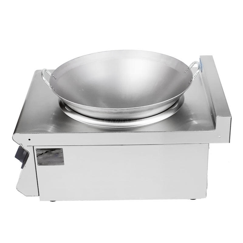 The affinity of desktop high-power commercial induction cooker stainless steel concave 8000w Menghuo electromagnetic stove electric frying stove