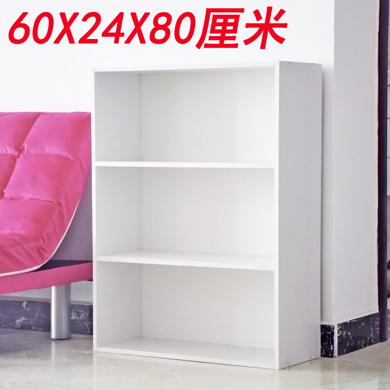 The wooden cabinet Cabinet Bookcase simple children special offer simple modern office file storage storage shelves