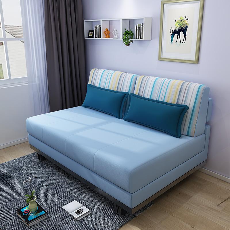 σύγχρονο μινιμαλιστικό κρεβατοκάμαρα καναπέ - κρεβάτι αποσπώμενα πτυσσόμενα 1,8 m το μικρό μέγεθος της πολυλειτουργικής καναπέ 1,5 m