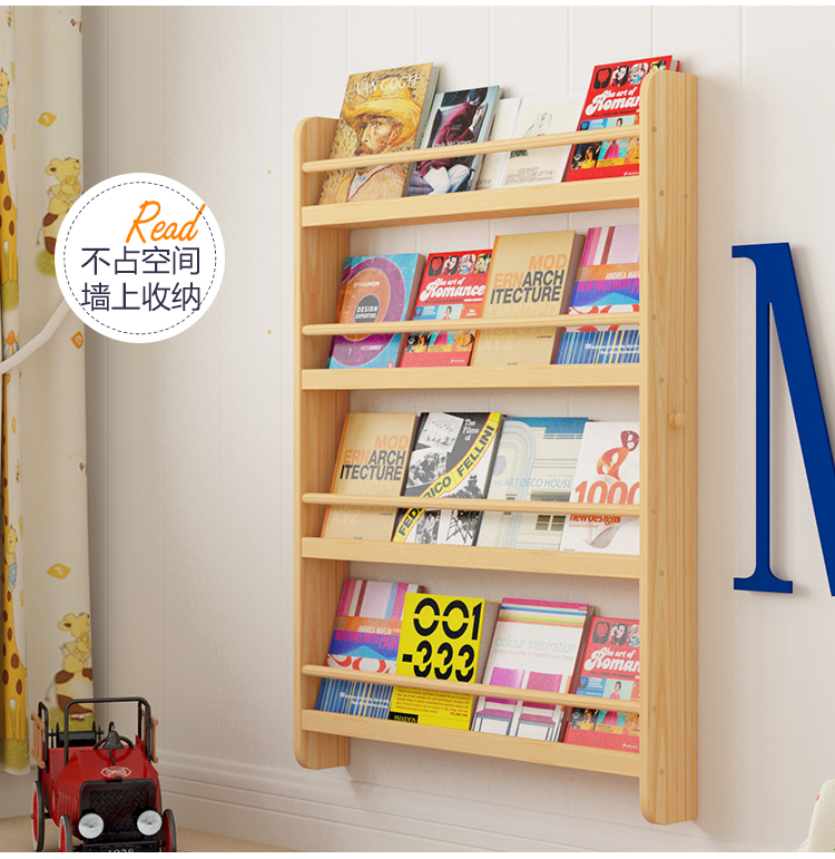 Bücherregal Wand Kinderzimmer  kjosy.com
