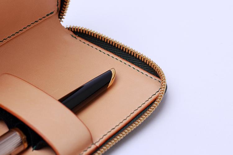FEYNEW 飞鸟和花-手工皮具 钢笔袋|showbagnow