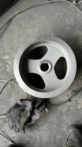 De riem, 275 mm Vier CAO B - riem vast.Een gat van 12 mm 40.04 insteeksleuf 200 materiaal