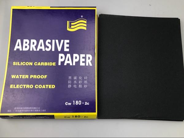 Carta vetrata resistente all'acqua bandiera di licenza Shuimo Sha Sha vernice abrasiva a grana grossa vernice Atomic cenere metallo vernice vernice accessori