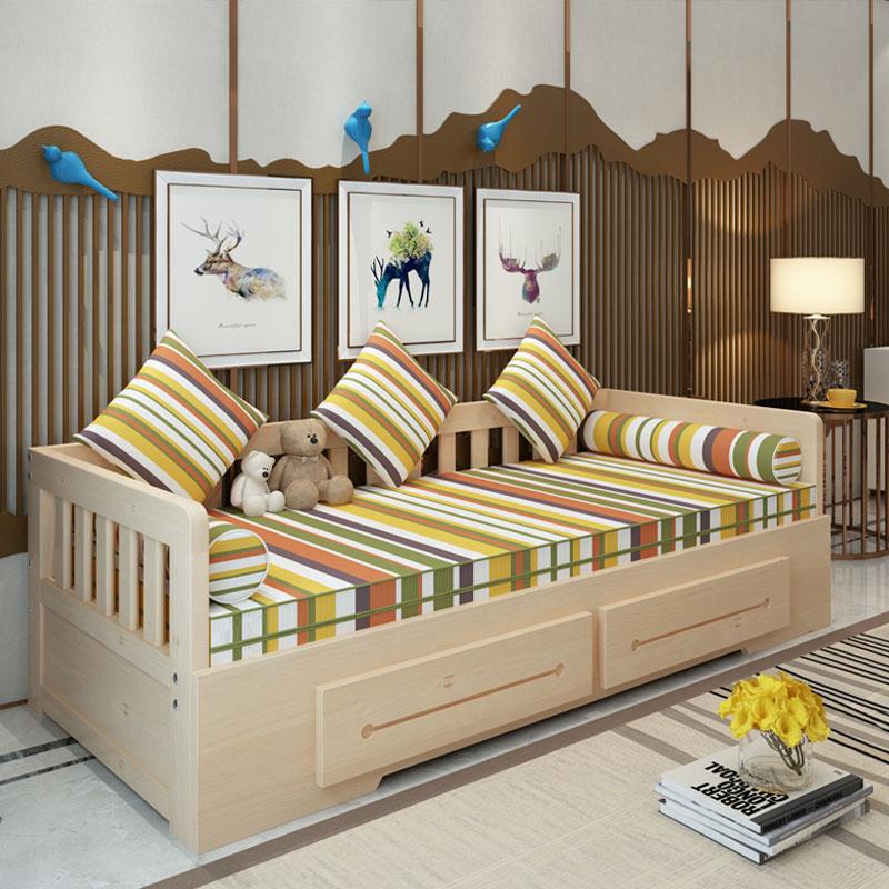 Το νέο καναπέ κρεβάτι πτυσσόμενου ένταση μικρό διαμέρισμα πολυλειτουργική 1,5 m σαλόνι 1,8 διπλό και ψέματα