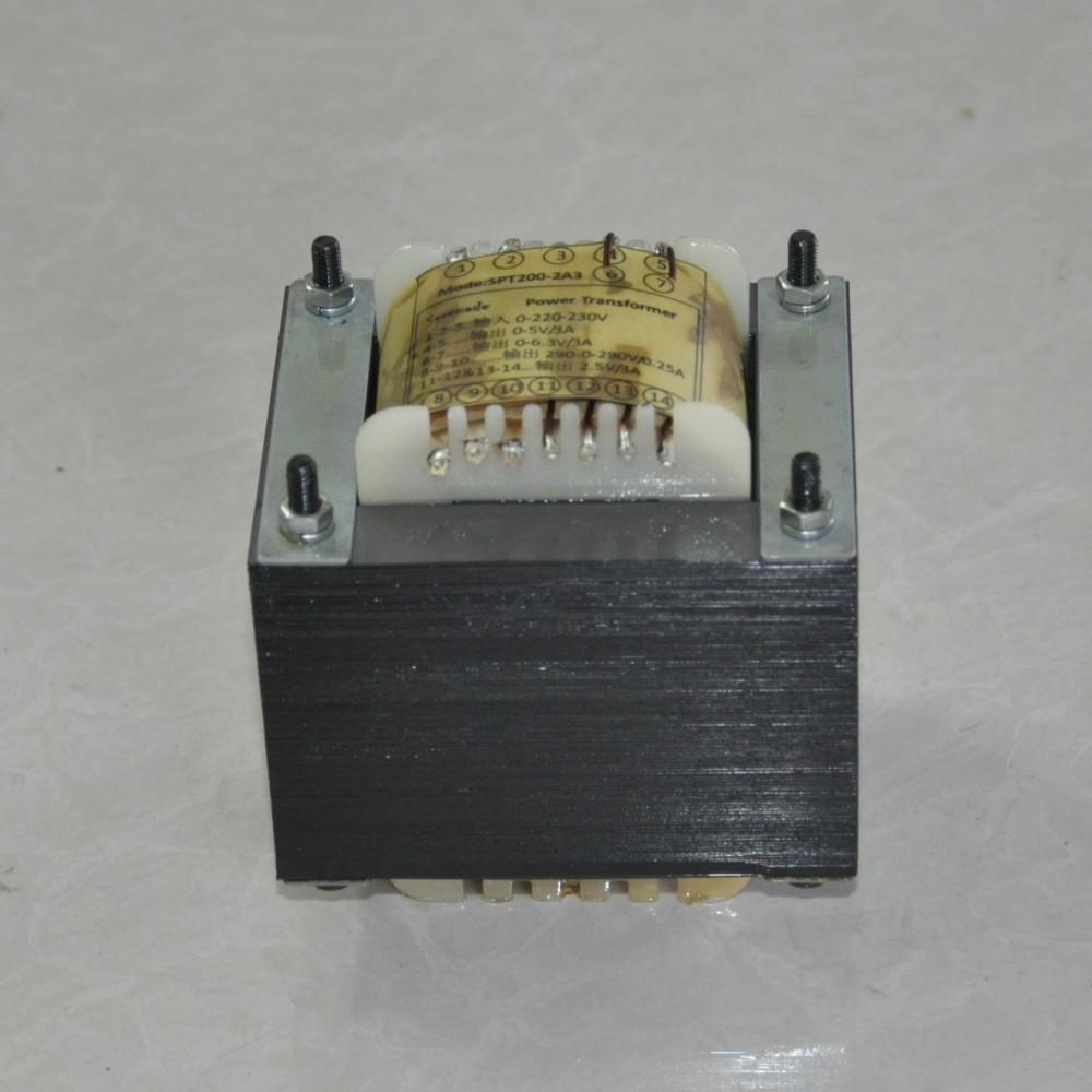 новый 2A3 один конец силовой трансформатор, двойной 290V, 0.2A, 2.5V3A2 группы, 6.3V3A5V3A