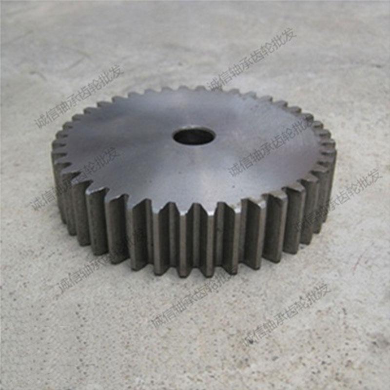 Es el engranaje de dientes de engranajes rectos 2.5M23 diámetro exterior espesor de engranaje de transmisión de 25 mm motocycle 62