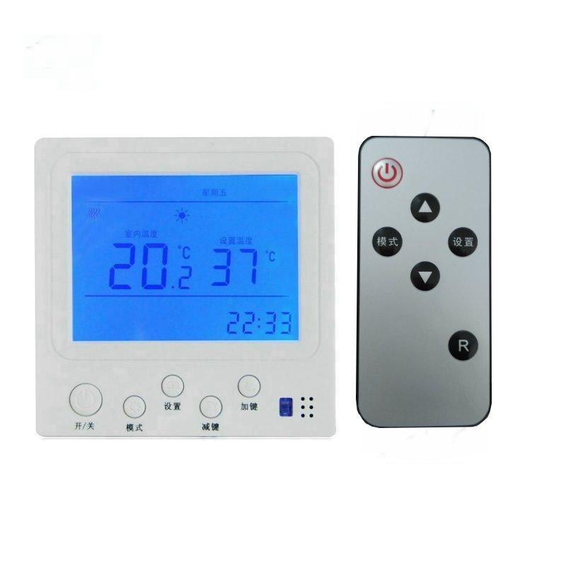elektromos fűtési 地暖 termosztát láz D202 kábelt az elektrotermikus film 控温 hőmérséklet kapcsoló csomagot