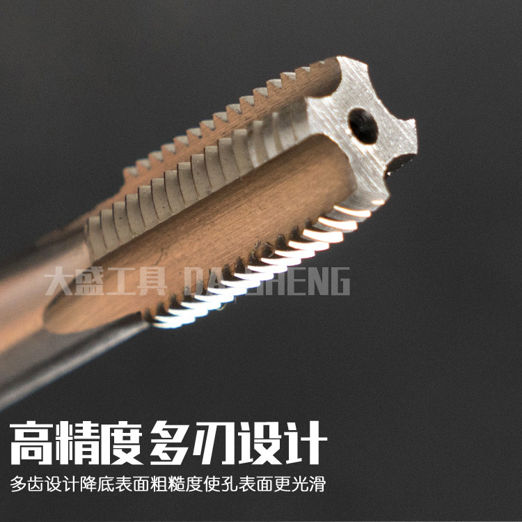 6542 high hardness of the whole grinding tapping machine with high speed steel tapered teeth thread tapping tap M50-M60