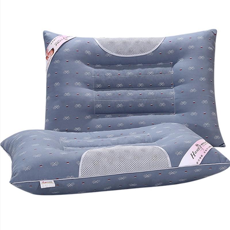 枕枕ケツメイシ成人護頚枕様シングル健康保険棉枕頸椎の枕
