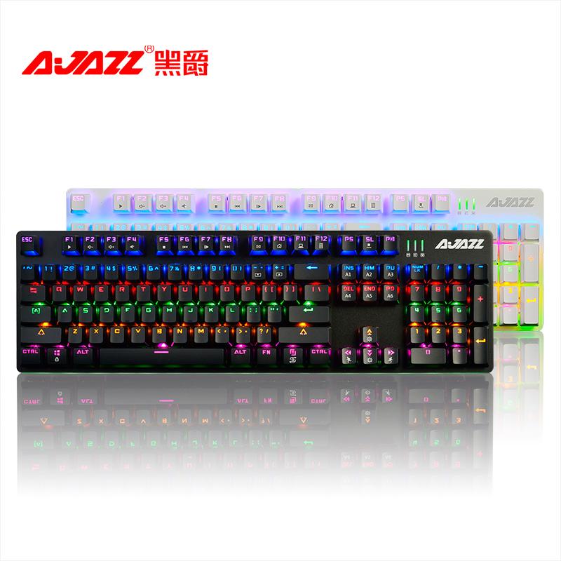 Miss peripheral shop AK50 black mechanical keyboard Steampunk retro round cap blue shaft black shaft game backlight