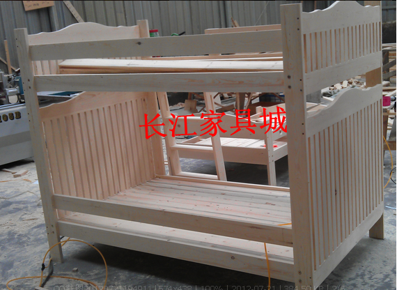 Pine wood double bed children bed painted wooden bed bed double bed children special offer