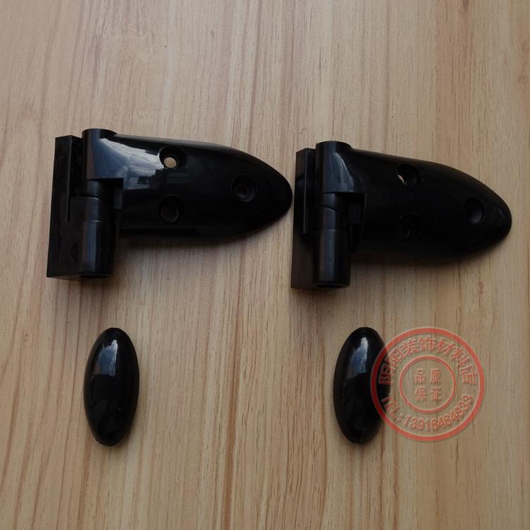公衆トイレの金属部品黒PP仕切りプラスチック重ねドア蝶番剪むキッチンキャビネット家具チェーン特価
