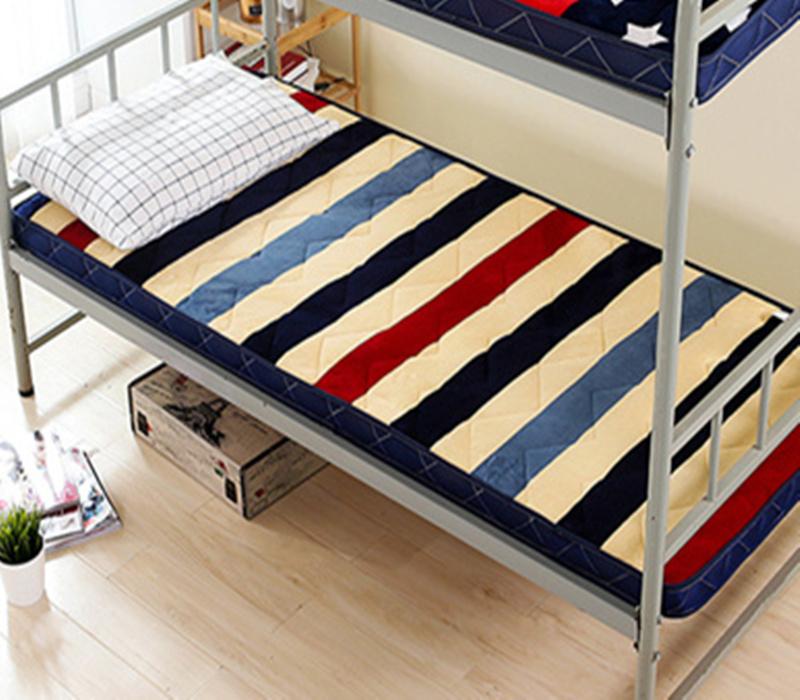 Gli studenti dell'Università di 0.9m dormitorio materasso in camera da letto a Castello singola Ultra Leggero ispessimento 90cm letto pieghevole 190cm1 metri