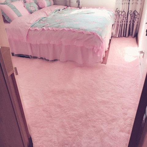 Toilet carpet Coral Fleece Baby Size Large tatami mat carpet made students before cutting the bedroom