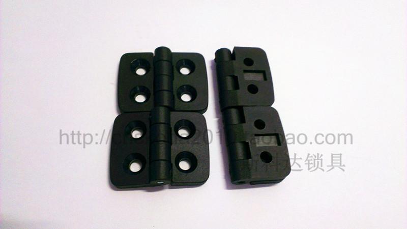 The electrical box of nylon 2020 nylon plastic hinge hinge hinge hole distance 40*30 20*14 lock handle