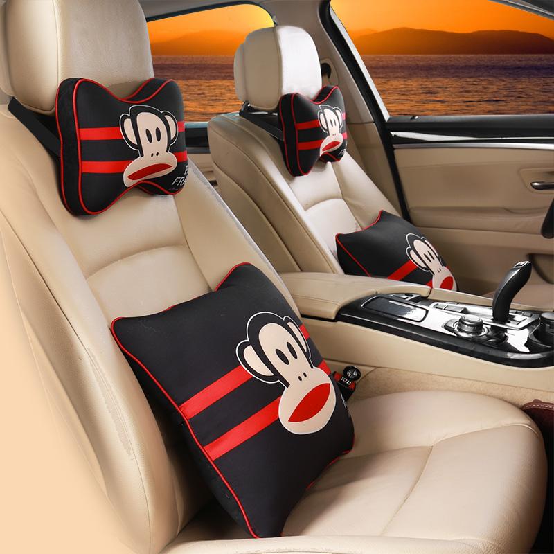 アニメの布で自動車用ヘッドレストの乗用車を運転快適介護頚枕ネックピローに可愛く快適