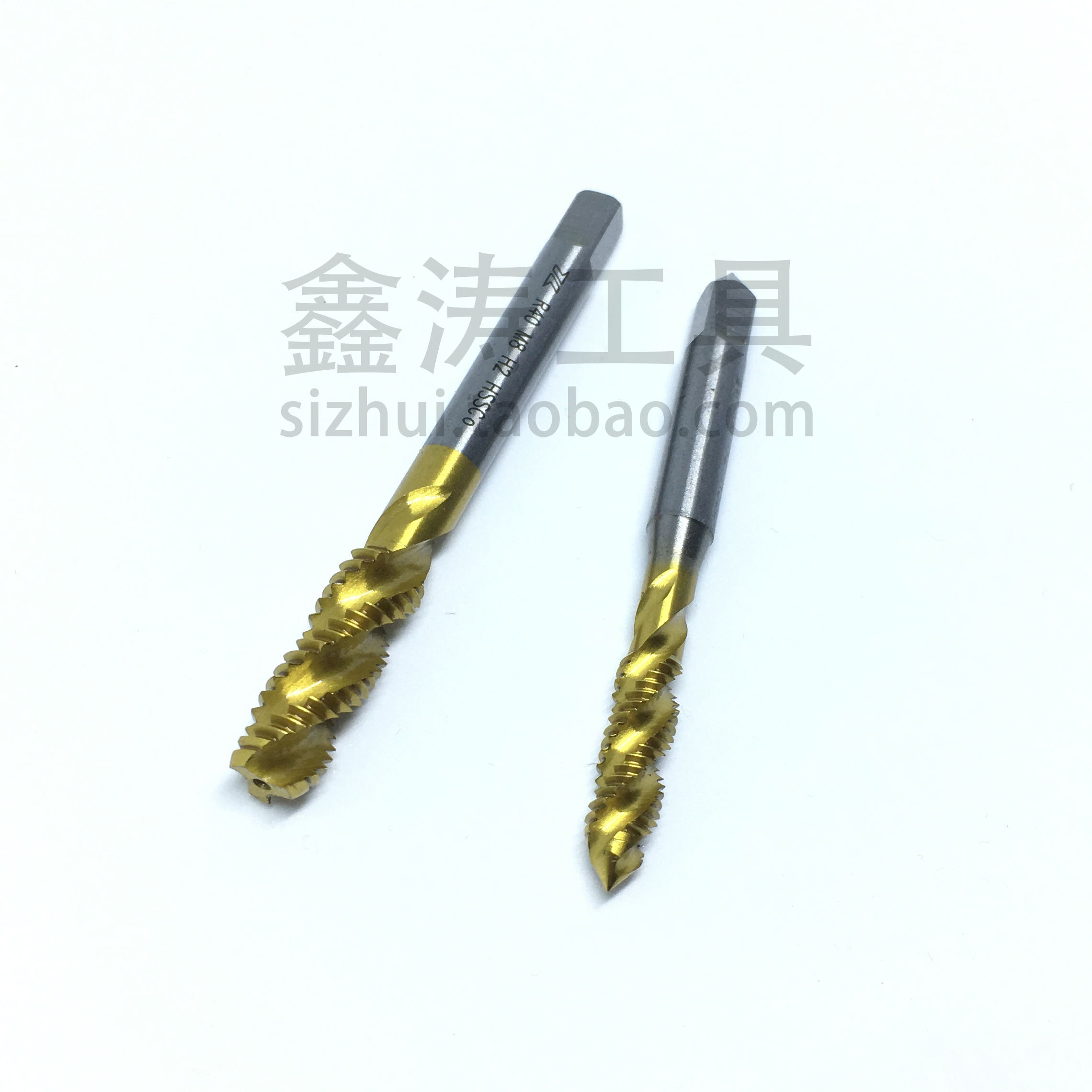 Diamond cobalt Spiral Tap machine tapping for titanium coating M2M2.5M3M4M5M6M8M10M12