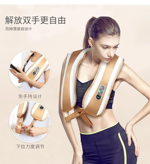 Massage kneading shoulder neck waist shoulder cape home Le neck vertebra cervical massage instrument