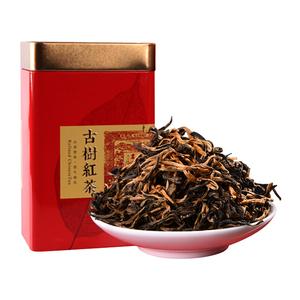功夫红茶茶叶滇红茶浓香型散装云南凤庆古树滇红非特级礼盒铁罐装