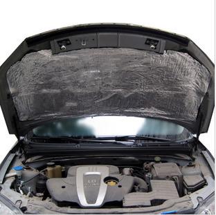 自動車防音綿アルミ型エンジンボンネットドア防音の純アルミニウムの防音断熱綿震パッド防錆