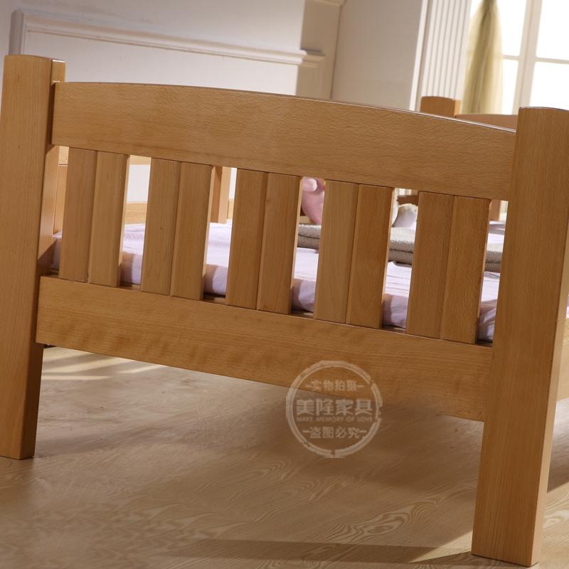 Ο 美隆伟 ξύλο οξιάς κρεβάτι μωρό μου κρεβάτι. προστασία του περιβάλλοντος, την ασφάλεια των παιδιών της ββ κρεβάτι μπογιά