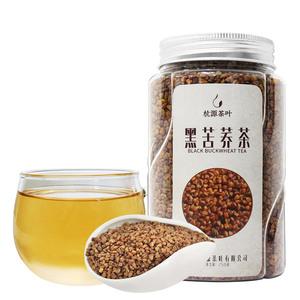 黑苦荞茶正品 花草茶茶叶 花茶四川大凉山荞麦茶搭大麦茶罐装250g