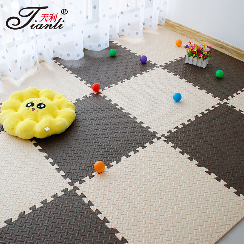 Mosaic puzzle for children falling creeping mats on large household tatami floor mats thick sponge