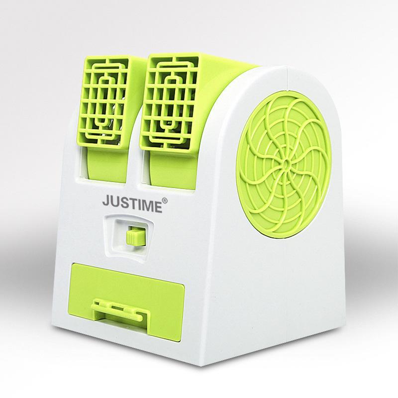 小さい扇風機扇風機小型usb創意寒い携帯車載冷凍ミニ電動寮マイクロ水エアコン