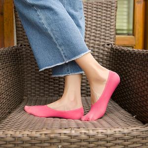 天天特价女薄款隐形浅口硅胶防滑韩国可爱短袜渔网袜夏季超薄丝袜