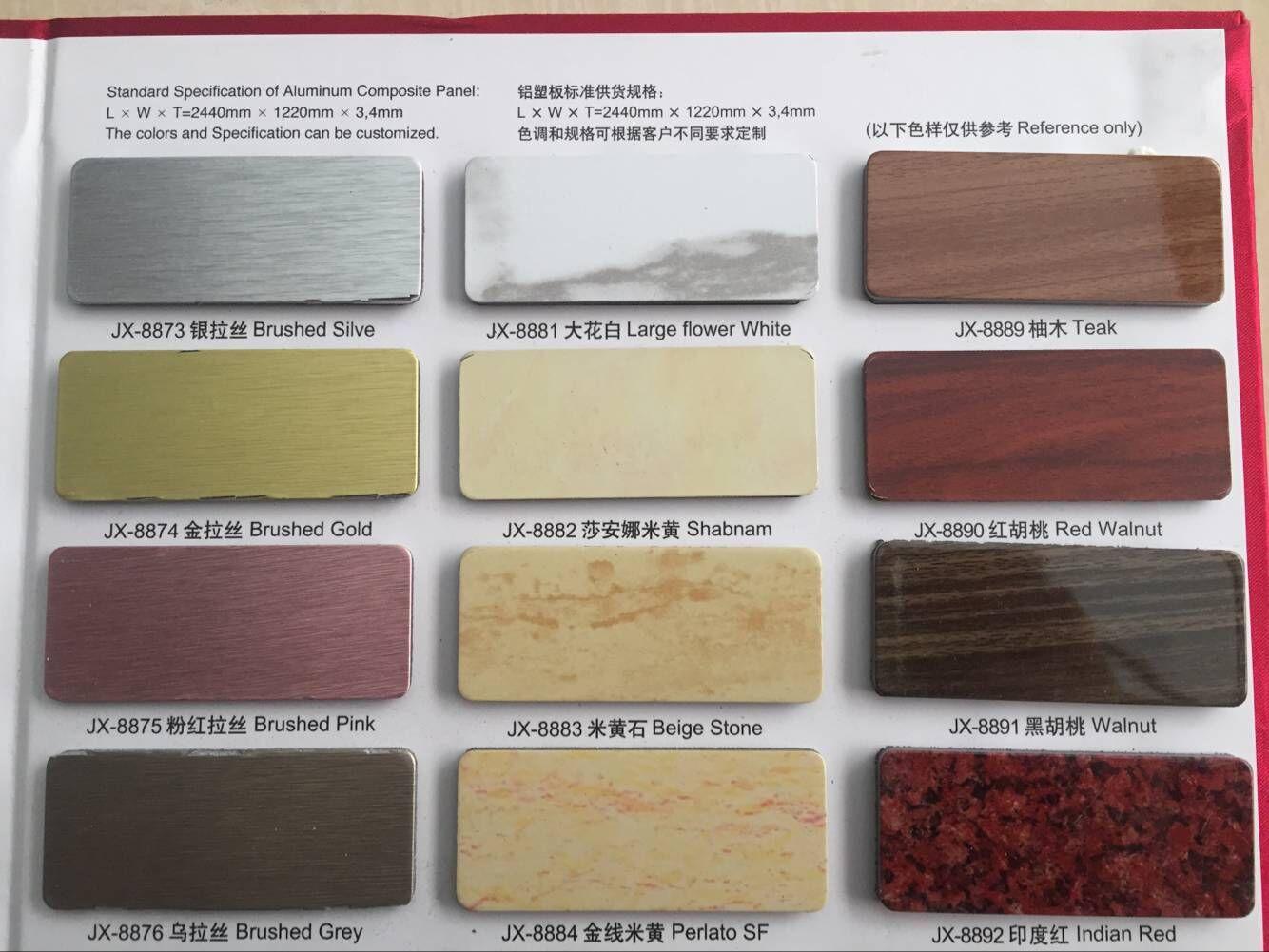 Paredes de paneles de aluminio dentro de la pared 2.8mm auspicioso anuncio de decoración exterior colgando de la venta directa de la fábrica