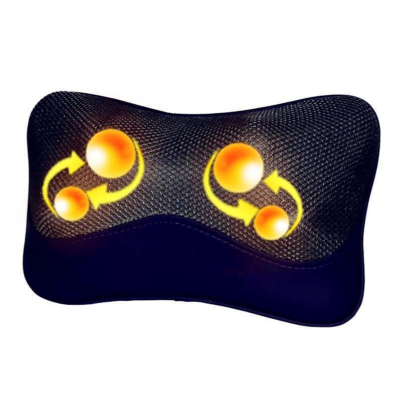 Een massage 舒力康 SLK-552A nek massage apparaat kussen middel cervicale massage.