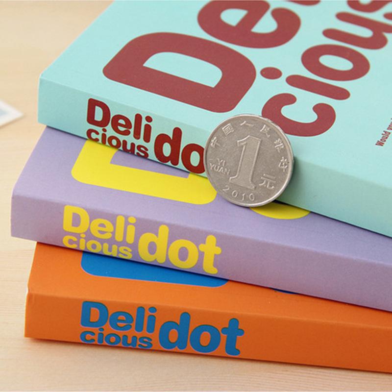小さなクラスキャンディカラーDelicious手帳清新可愛いとして日記を落書き本