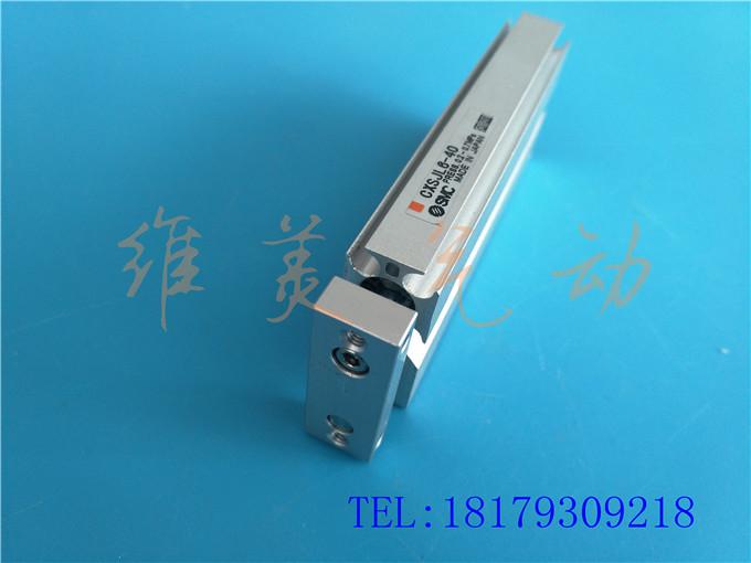 SMC original CXSJL25-10 / 20 / 30 / 40 / 50 / 75 / 100 / 125 / 150 de doble eje de cojinetes