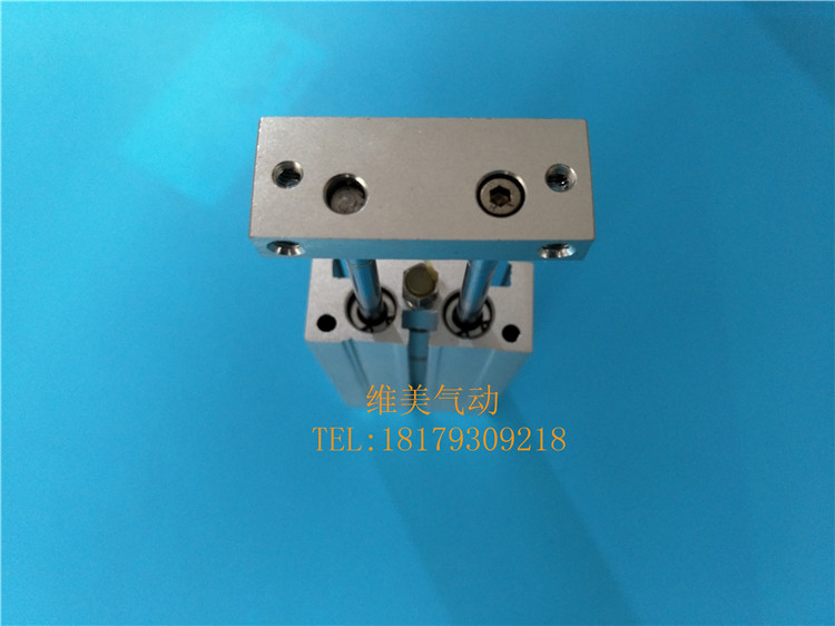 SMC genuine CXSL10-70/100/125/150 double rod cylinder, biaxial ball guide bearing, cylinder spot